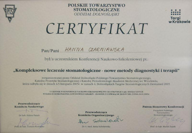 Oglądasz obrazki z artykułu: Certyfikaty